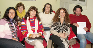 Participantes en el curso. 