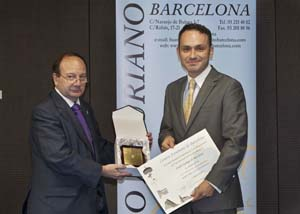 El Centro Gallego de Barcelona recibi la medalla de oro de entidad. 