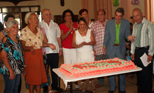 La sociedad gallega de puentes de garc a rodr guez en la habana celebra su centenario galicia - Tiempo en puentes de garcia rodriguez ...