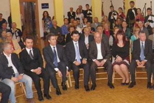 Rodríguez Miranda y Núñez Feijóo, durante la reciente reunión en Barcelona.