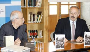 Antonio Izquierdo y Ramón Villares, durante la presentación del seminario.
