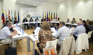Rodríguez Miranda presidió la sesión matinal en la que se analizó la Lei da Galeguidade.