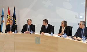 Feijóo presidió el Consello de la Xunta más duro de la historia de Galicia.