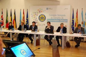 Antonio Rodríguez Miranda presidió la última reunión de la Comisión Delegada, en noviembre de 2013.