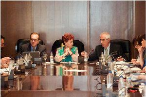 María Teresa Michelón presidió, junto a Miras Portugal y Eduardo Dizy, la comisión.