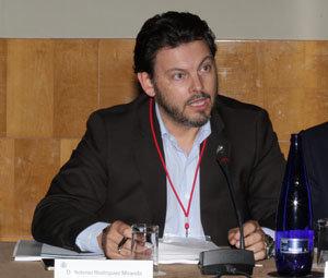 Rodríguez Miranda, durante su intervención.