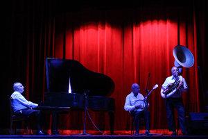 Un momento del concierto de reinauguración de la sala.