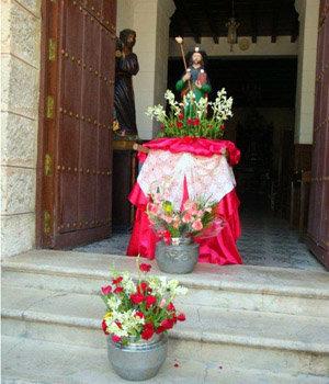 El Apóstol presidió la celebración en la Plaza de Galicia.
