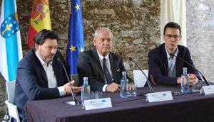 Rodríguez Miranda, durante su intervención en la inauguración del curso.
