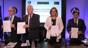 Fátima Báñez, durante la presentación del informe.