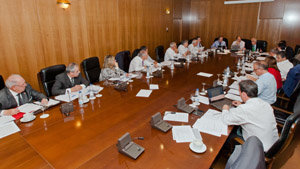 Un momento de la reunión de la Comisión de Derechos Civiles, celebrada en Madrid el pasado mes de mayo.