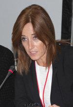 Eva Foncubierta, durante el pasado Pleno del CGCEE.