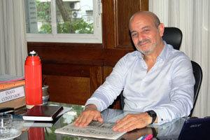 Sergio Iribarren, interventor del Centro Gallego de Buenos Aires, en reemplazo de Carlos La Blunda.