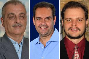 Lorenzo Javier Rolo, José Antonio Alejandro y Eduardo Pellón.