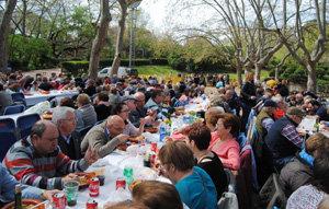 La Agrupacion Andaluza San Sebastian De Los Ballesteros Celebro La