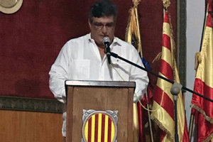 El presidente del Centre Català de Caracas y consejero de la Cataluña Exterior por Centroamérica, Roberto Serrano i Puig.