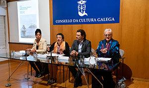Un momento de la intervención de Rosario Álvarez en la conferencia 'A Habana Galega'.