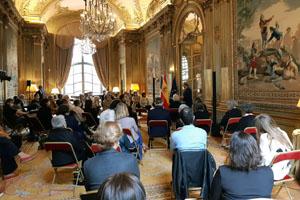 Embajada en Francia-Memoria Democratica
